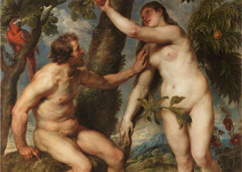 TITIAN, CIRCA 1550 ADAM AND EVE