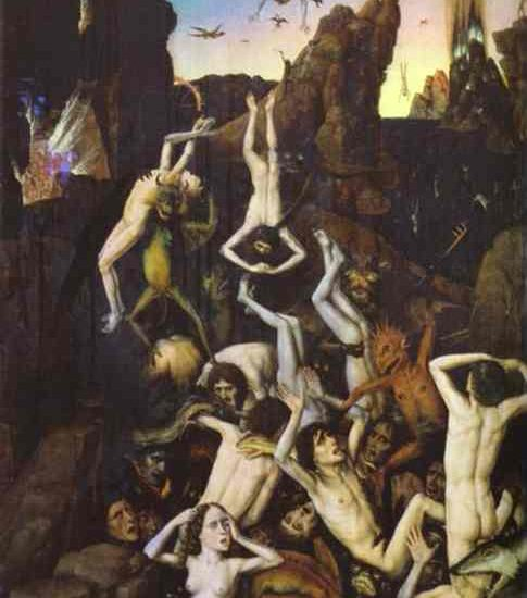 DIETRIC BOUTS THE ELDER: HELL, CIRCA 1470