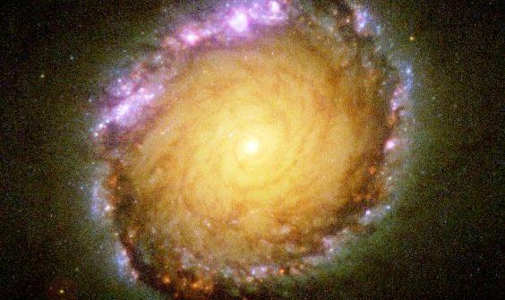 SPIRAL GALAXY NGC 1512 (CREDIT: NASA, ESA, AND D. MOAZ)