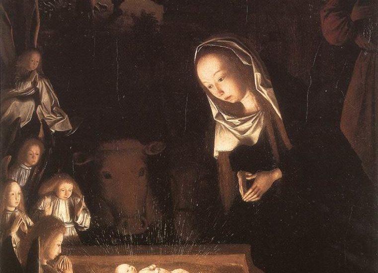 NATIVITY AT NIGHT Geertgen tot Sint Jans Early Netherlandish painting, c. 1490