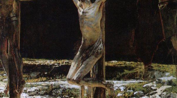 NIKOLAI GE THE CRUCIFIXION, OR GOLGOTHA, 1893