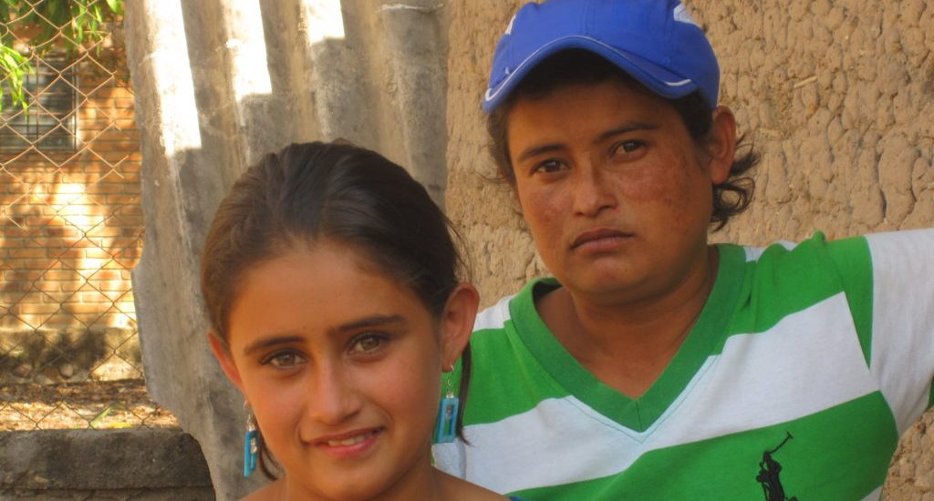 16-YEAR-OLD NORMA AND HER MOTHER SANDRA OCOTEPEQUE, HONDURAS